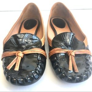 kate spade Patent Leather Moccasins